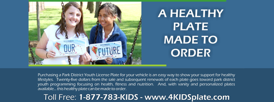 Support the Illinois Park District License Plate Program