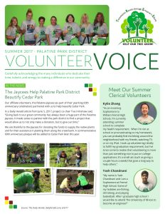Volunteer Voice Newsletter