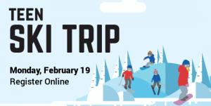 Register Online for Teen Ski Trip