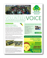 Click to View the Winter 2018 Volunteer Voice