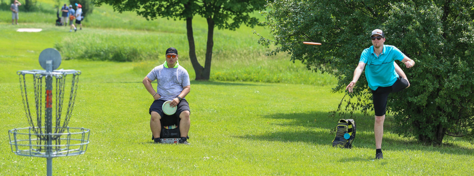 Disc Golf Course At Margreth Riemer Reservoir Palatine Park District