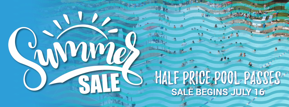 Half Price Outdoor Pool Passes Available