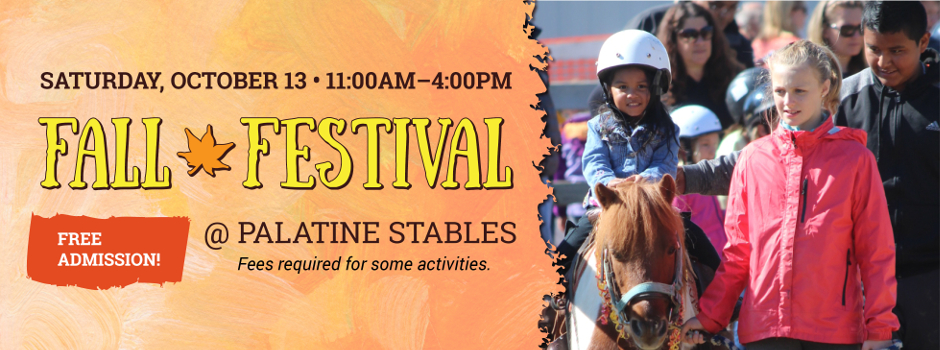20th Annual Fall Festival at Palatine Stables
