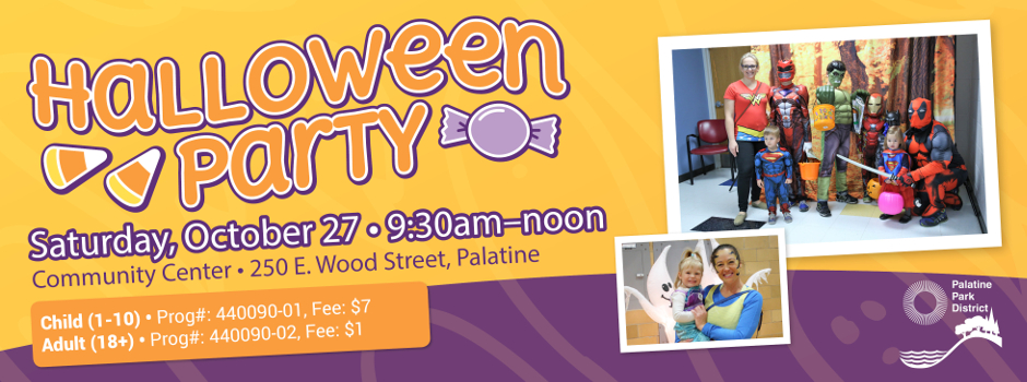 Register Online for Halloween Party