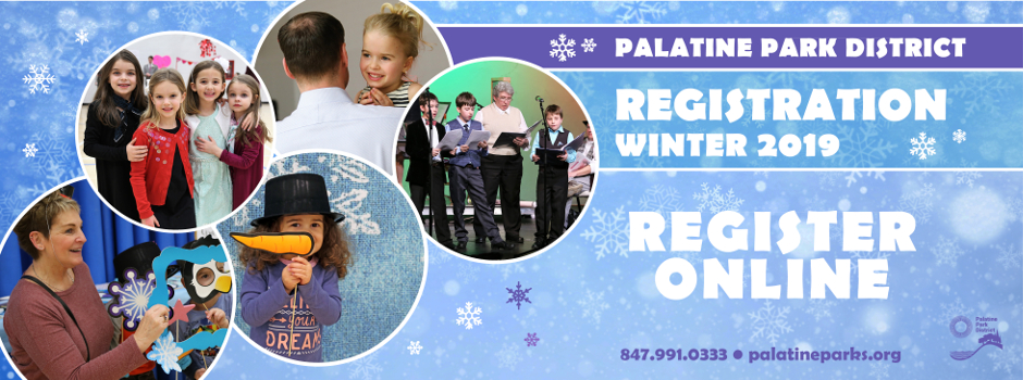 Register Online for 2019 Winter Programs