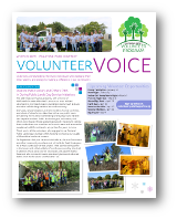 Click to View the FallSpring/Summer 2018 Volunteer Voice