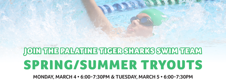 Learn more about the Palatine Tiger Sharks Swim Team