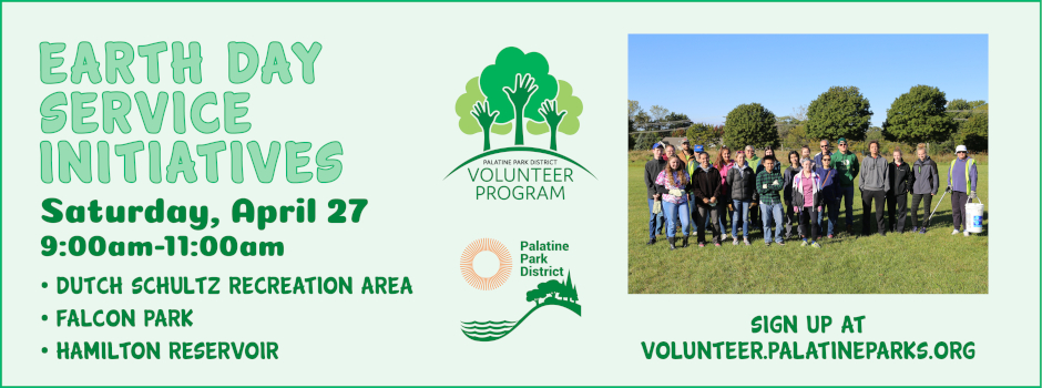 Volunteer for Earth Day Service Initiatives on April 27