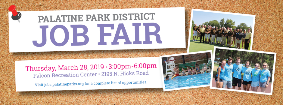 Learn More About Palatine Park District Employment Opportunities at Our Spring Job Fair