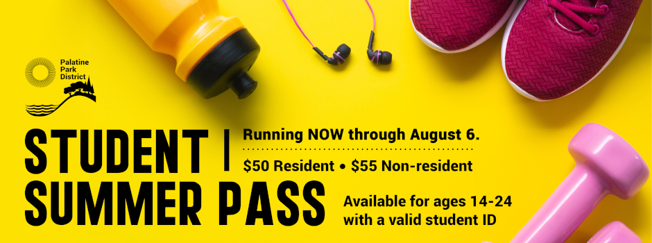 Get a Student Summer Pass to the Community Fitness Center