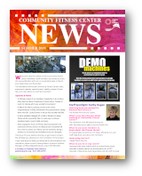 Click to View the Summer 2019 Fitness Center Newsletter