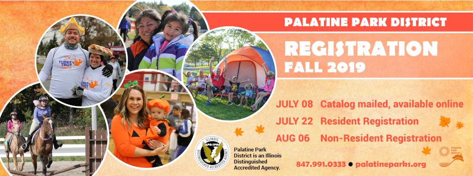 Register for Fall Programs Beginning July 22