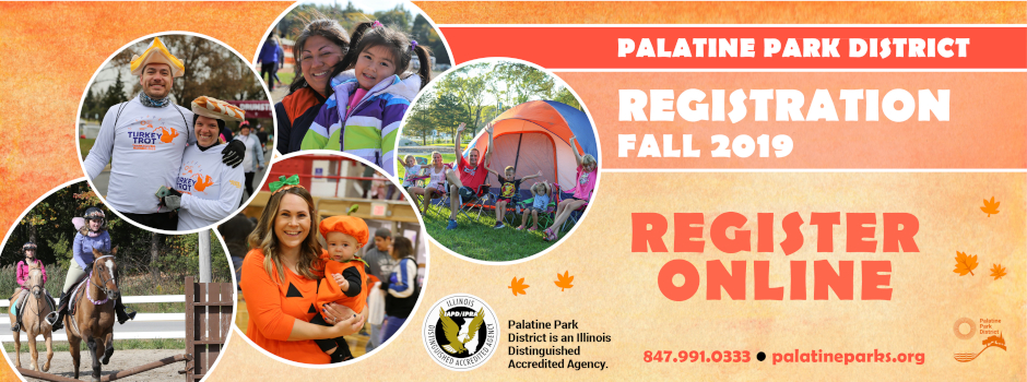 Registration for Fall Programs Now Available