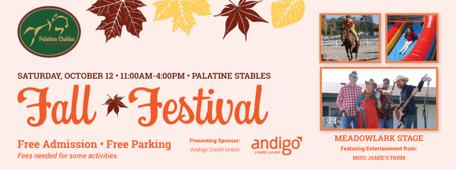 Fall Festival at Palatine Stables on October 12