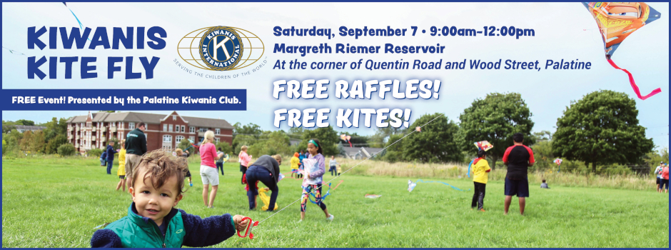 Kiwanis Kite Fly on September 7 at Margreth Riemer Reservoir