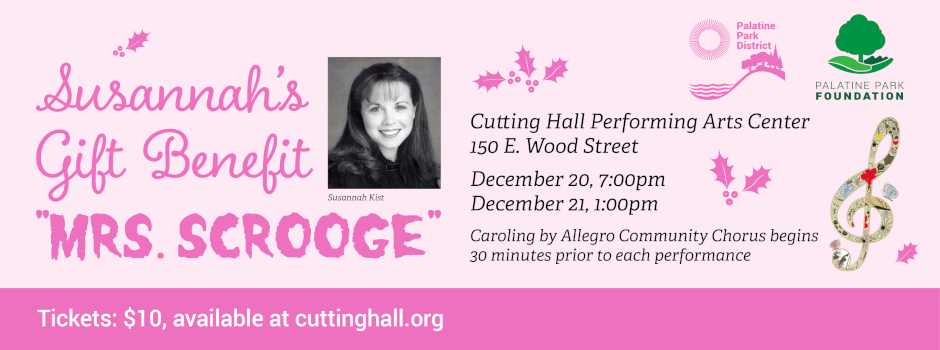 Get Tickets for Mrs Scrooge at Cutting Hall Performing Arts Center on December 20-21