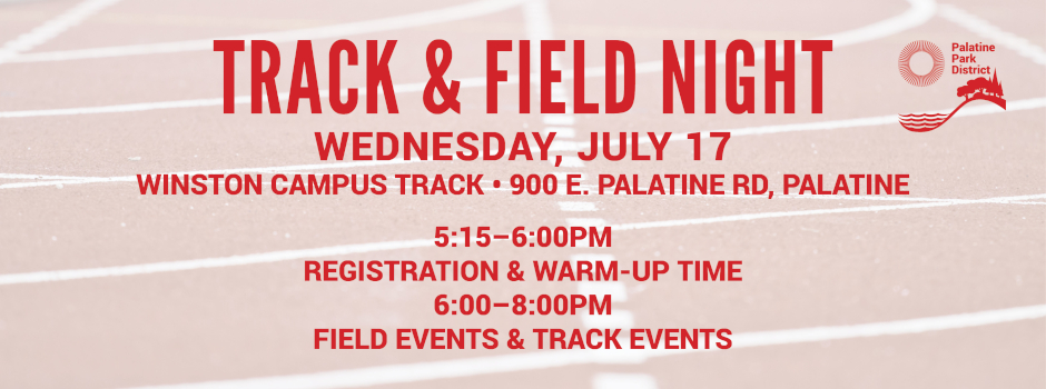Track and Field Night at Winston Campus on July 17