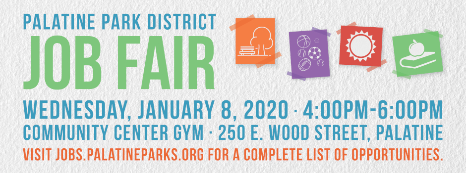 Learn More About Palatine Park District Employment Opportunities at Our Job Fair