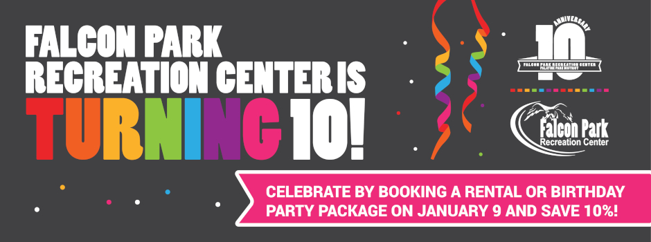 Falcon Park Recreation Center Celebrates 10 Year Anniversary on January 9