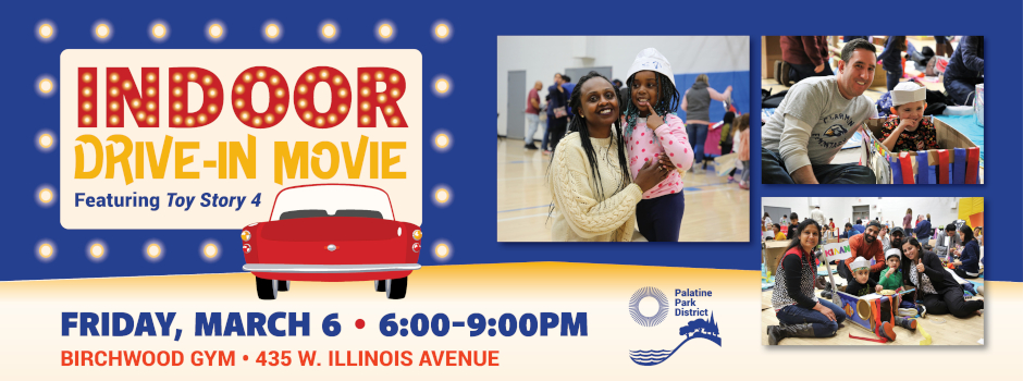 Indoor Movie Night at Birchwood Recreation Center on March 6