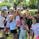 Kids Camp Outside Birchwood Recreation Center in 2019