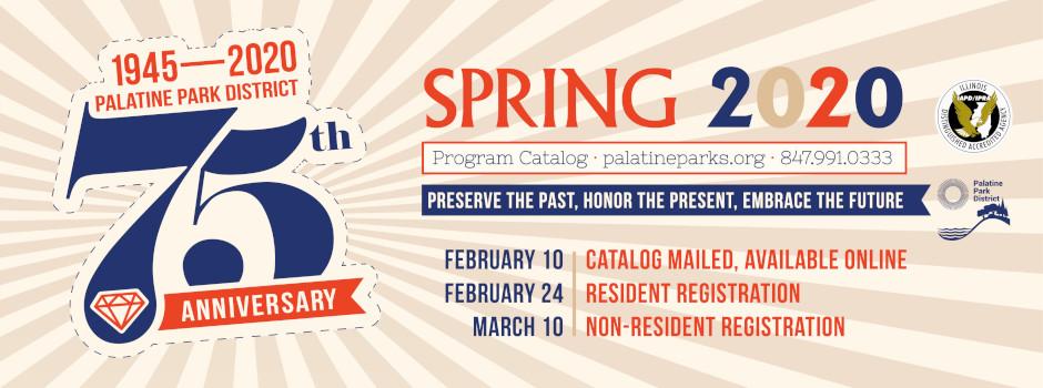 Register for Spring 2020 Programs Beginning February 24
