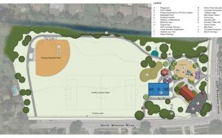 Maple Park Conceptual Plan