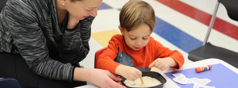 Parent & Tot Programs at Palatine Park District