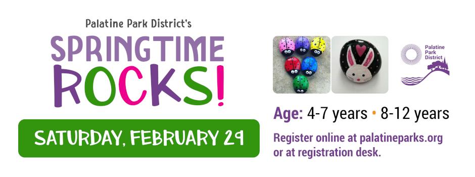 Register for Springtime Rocks on February 29