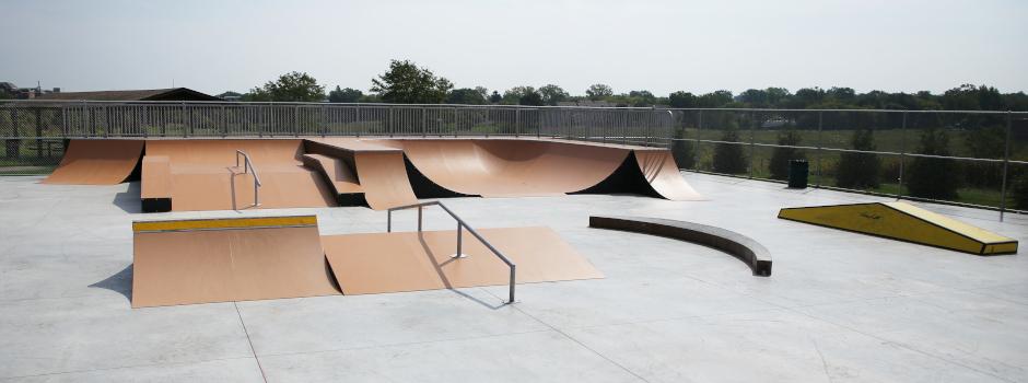 Skate Park at Margreth Riemer Reservoir Park