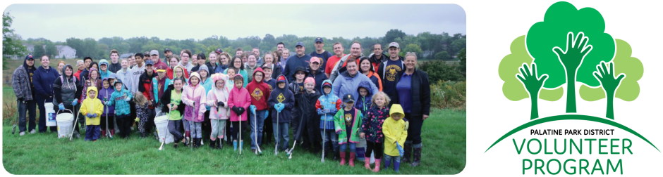Volunteer Opportunities at Palatine Park District