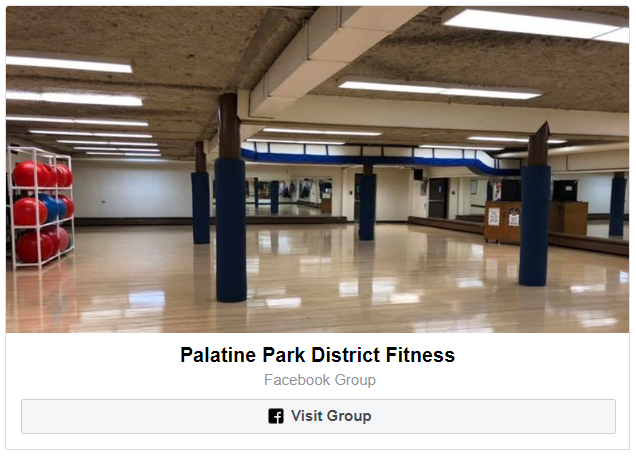 Join the Palatine Park District Fitness Facebook Group