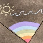 """Rainbow"" (Chalk) by The King Family"