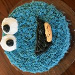 """Cookie Monster"" (Cake) by Madysen Reilly"