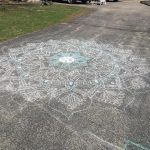 """Mandala"" (Chalk) by Savanna Dean"