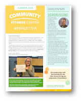 Click to View the Summer 2020 Fitness Center Newsletter