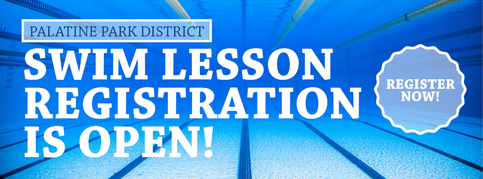 Swim Lesson Registration is Now Open