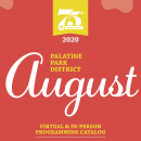 Register Online for 2020 August Virtual & In-Person Programming