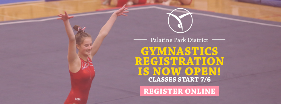 Gymnastics Registration is Now Open – Classes Start July 6