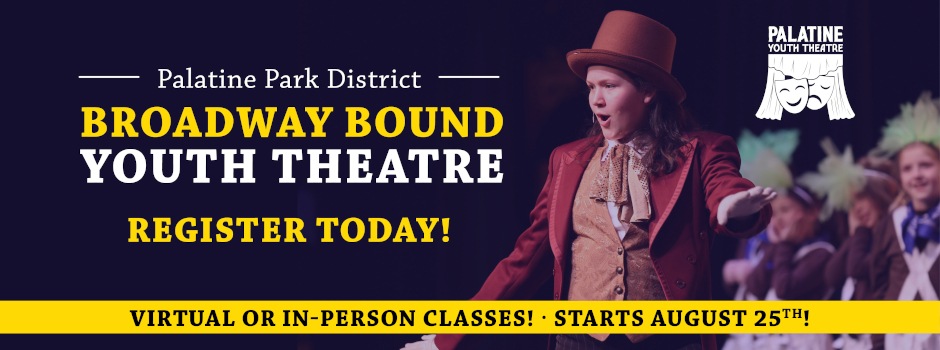 Register for Broadway Bound Youth Theatre Classes