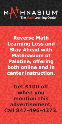 Get $100 Off When You Mention This Advertisement at Mathnasium of Palatine