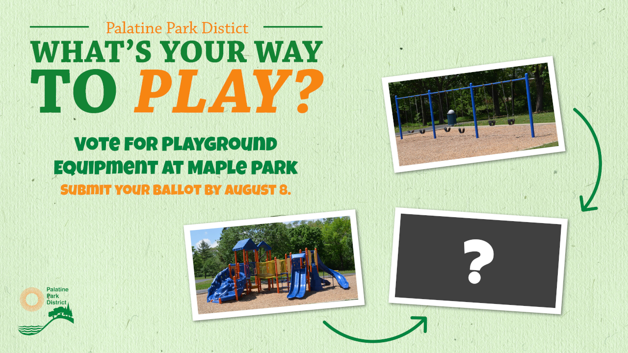Vote For Your Favorite Way to Play at Maple Park Playground