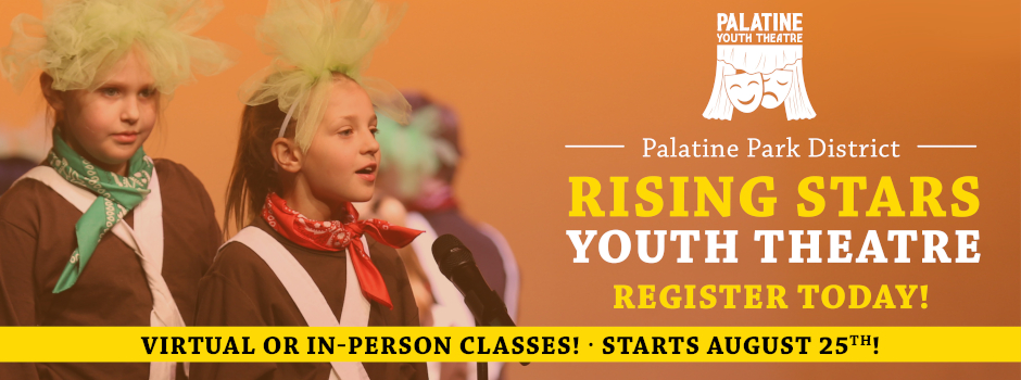 Register for Rising Stars Youth Theatre Classes