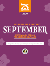 September 2020 Virtual & In-Person Programming Catalog