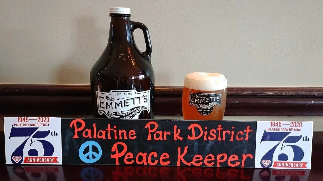 Palatine Park District Peace Keeper at Emmett's Brewing Company