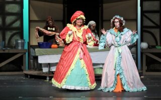 Step Sister in Family Friendly Theatre's Cinderella