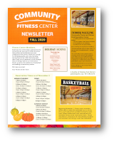 Click to View the Fall 2020 Fitness Center Newsletter