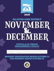 November/December 2020 Virtual & In-Person Programming Catalog