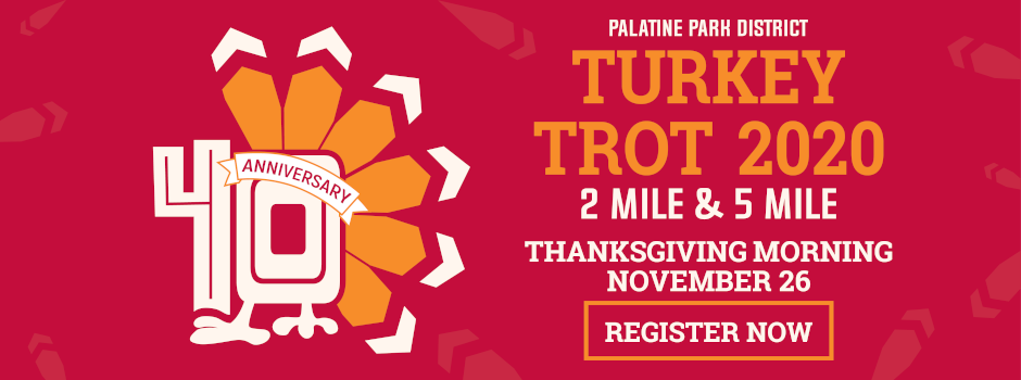 Register Online for the 40th Annual Turkey Trot and Drumstick Dash
