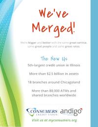 Andigo + Consumers Credit Union - 2020 Turkey Trot Sponsor
